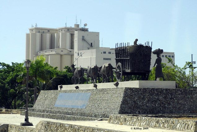 Monument to sugar cane industry