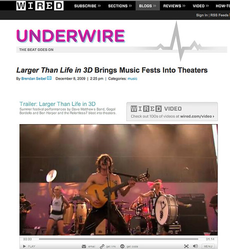 Underwire - 3D Concerts