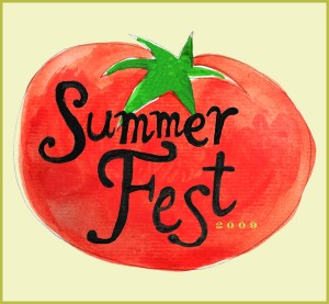 2009 Summer Fest Badge