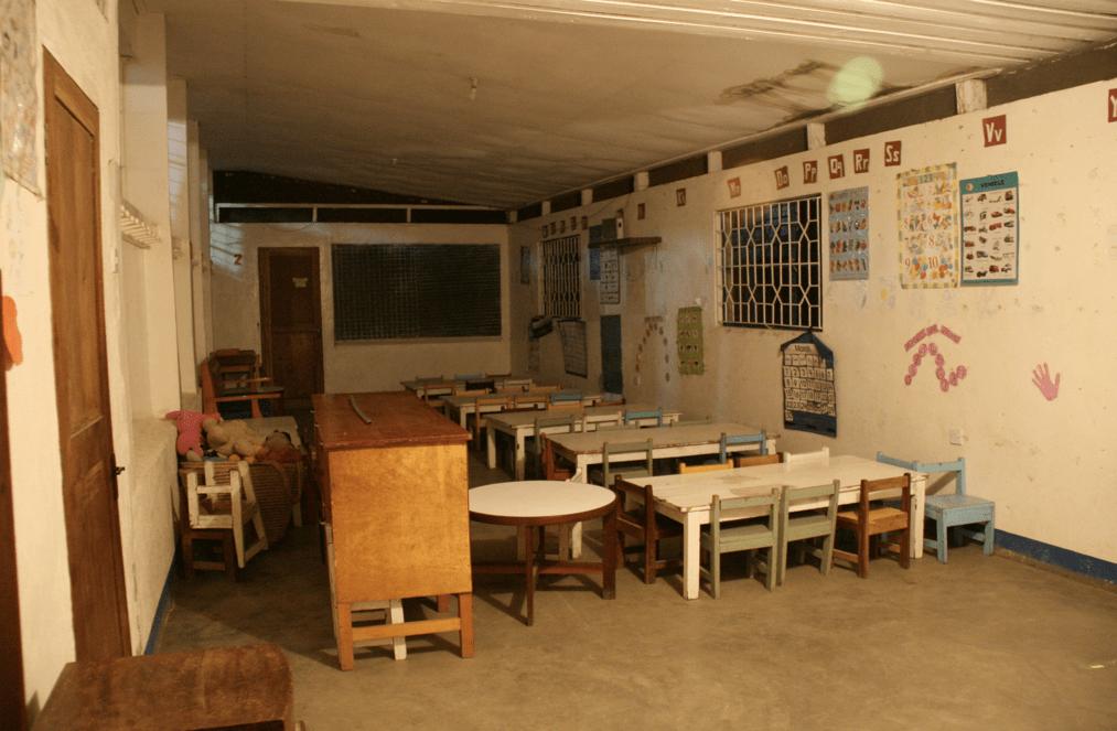 baby classroom at night