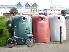 Recycle Cycle - Bottle Bank