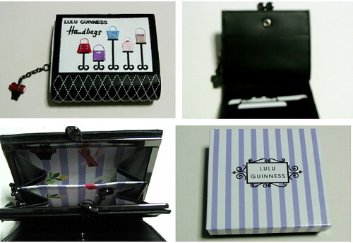Lulu Guinness Shop Motif Wallet