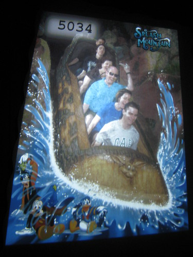 We're cheap ok? Photo of our splash mountain photo