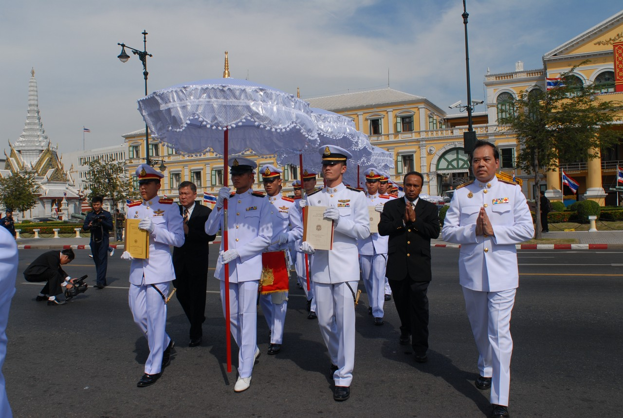 World Tipitaka & Cadets from the Thai Armed Forces 2009