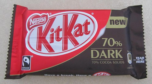 Kit Kat 70% Dark (UK)