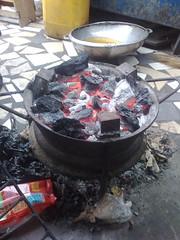 rim stove charcoal