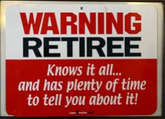 Retirees! Please Note :-)