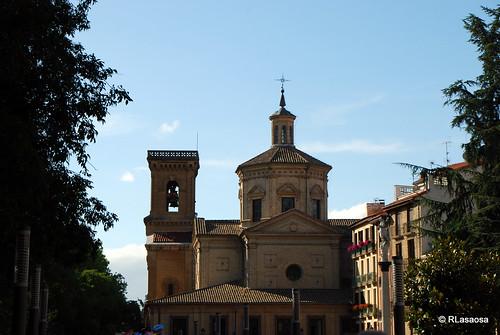 La Iglesia de San Lorenzo desde el Rincón de la Aduana.