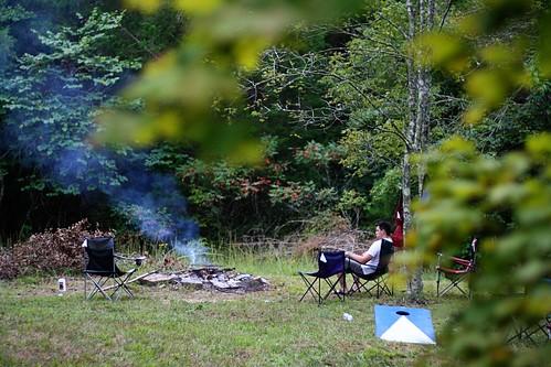 Rough River: The Campsite