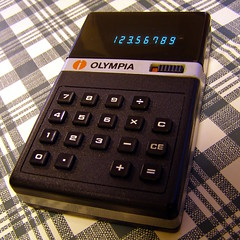 Pocket electronic calculator