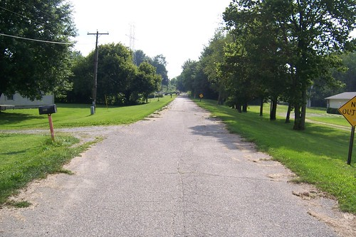 Old US 40 near Toad Hop