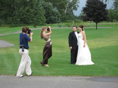 Im photographing them being photographed. Theres something kind of uncomfortable meta about this, dont you think?