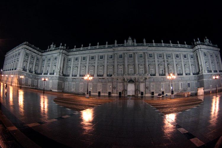 Palacio Real Night