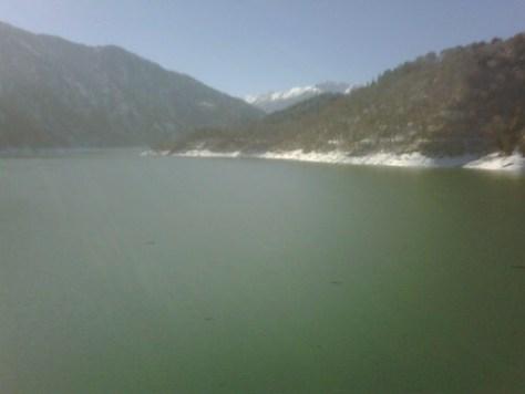 Kurobe-lake