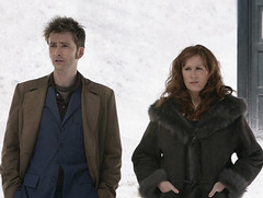 David Tennant and Catherine Tate in Doctor Who