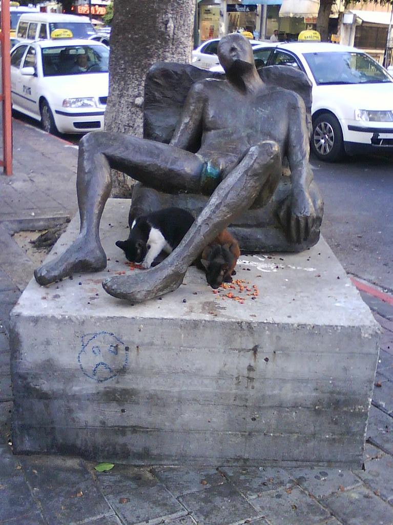 Tel Aviv Statue