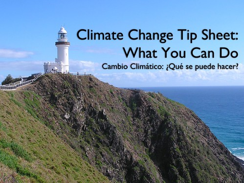 Climate Change Tip Sheet