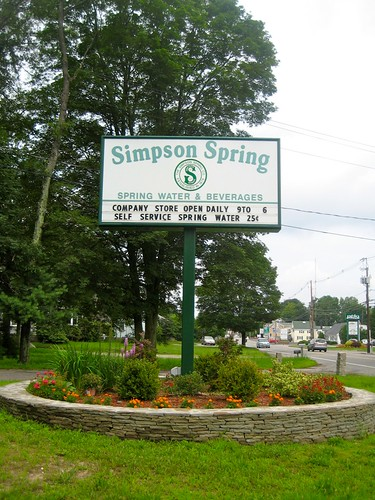 Simpson Spring Sign