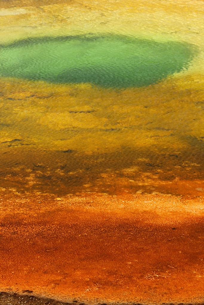 Chromatic Pool - Yellowstone NP