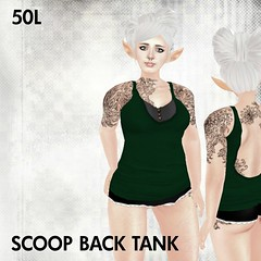 This Is A Fawn - Scoop Back Tank