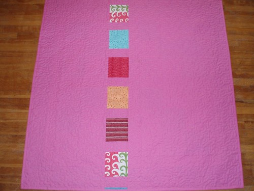 Picnic Quilt Backside by Van Os