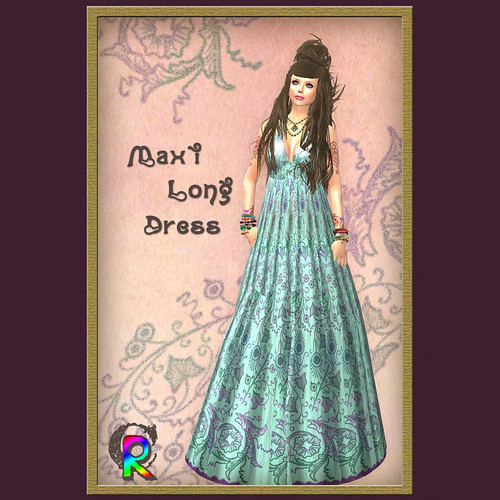 [[RC]] Rainbow Chaser _Maxi Long Dress_ 01