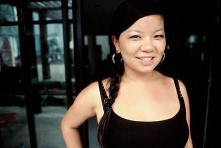 Christine Lu at Barcamp Shanghai