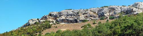 Пещерный монастырь Четлер над пос. Терновка