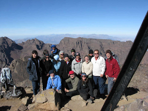 Jebel Toubkal summit