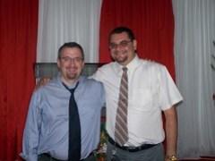 Andrew and Pastor Samuel