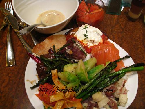 Wynn Buffet, plate 2