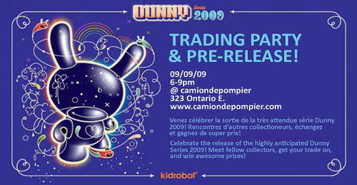 dunny 2009 trade party camiondepompier