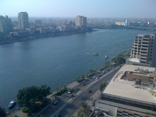 iPhone Nile view from our room