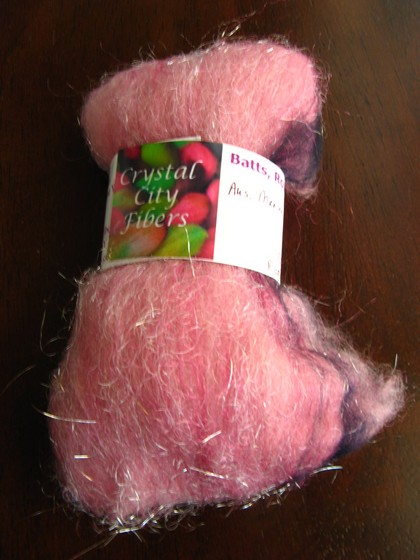 """Fagiano"" Aus. merino, firestar, and angelina - Crystal City Fibers"