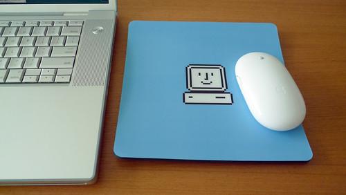 Susan Kare icon mousepad