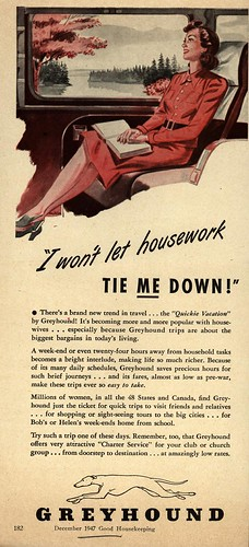 """""""I won't let housework tie ME down!"""" by thelampnyc."""