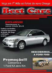 Capa de Revista de Carros
