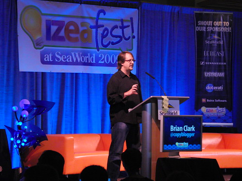 Brian Clark at IZEAfest 2009