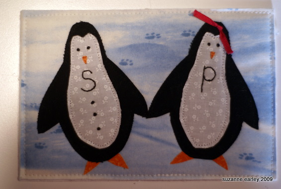 Penguin postcards