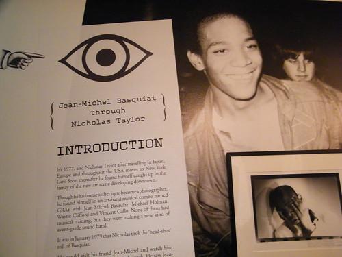 Jean-Michel Basquiat through Nicholas Taylor