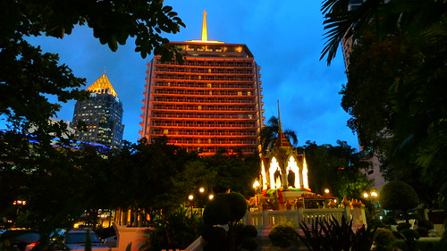 Dusit Thani at Dusk