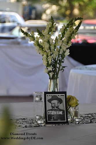 Film theme table numbers