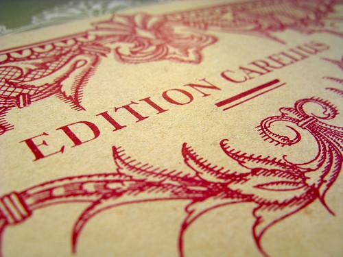 Edition Carelius