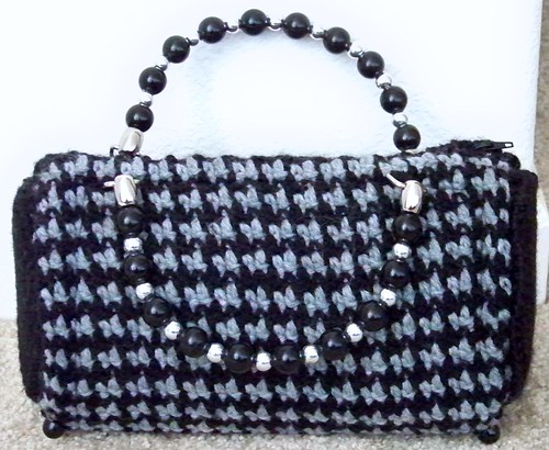 Houndstooth Bag 5