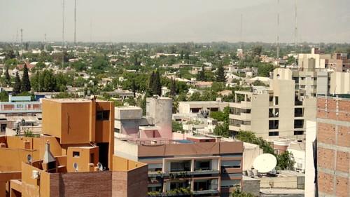 Vista de San Juan, desde el mirador