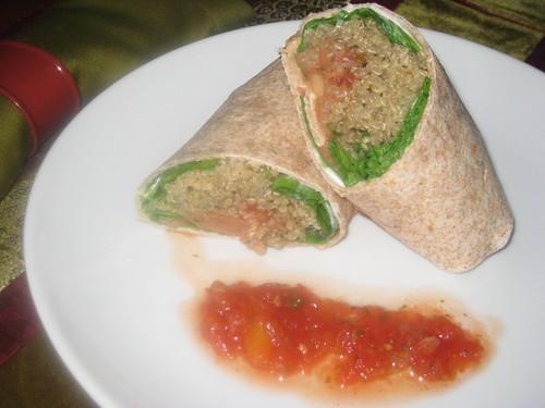 Quinoa Burritos