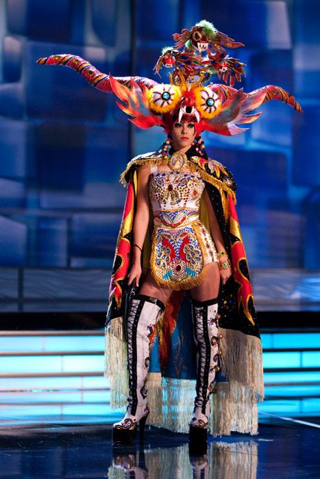 Traje Típico de Miss Perú Diablada