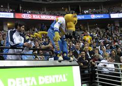 crazy mascot