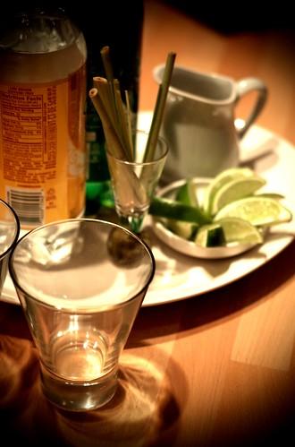 thai cocktail mise en place