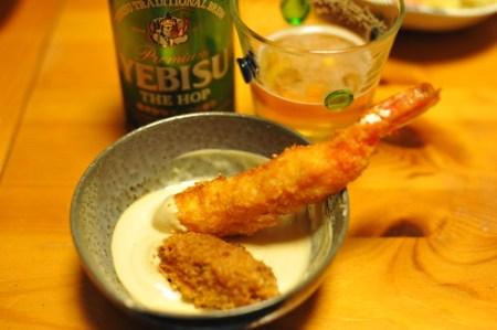 コスモソースは魚介類フライにピッタリ